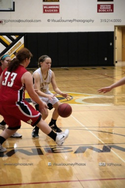 Sophomore Girls Basketball Vinton-Shellsburg vs Williamsburg-0244