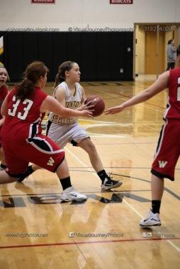 Sophomore Girls Basketball Vinton-Shellsburg vs Williamsburg-0245