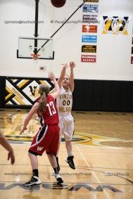 Sophomore Girls Basketball Vinton-Shellsburg vs Williamsburg-0254
