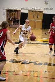Sophomore Girls Basketball Vinton-Shellsburg vs Williamsburg-0261