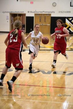 Sophomore Girls Basketball Vinton-Shellsburg vs Williamsburg-0262