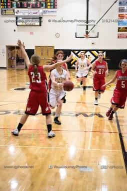Sophomore Girls Basketball Vinton-Shellsburg vs Williamsburg-0264