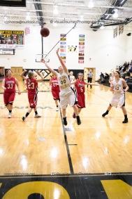 Sophomore Girls Basketball Vinton-Shellsburg vs Williamsburg-0268