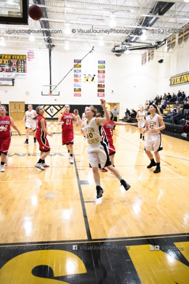Sophomore Girls Basketball Vinton-Shellsburg vs Williamsburg-0269