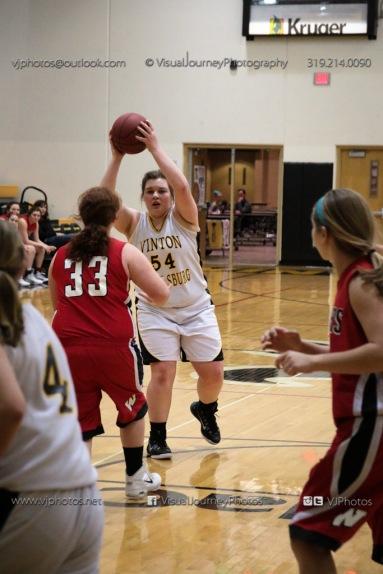 Sophomore Girls Basketball Vinton-Shellsburg vs Williamsburg-0271