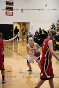 Sophomore Girls Basketball Vinton-Shellsburg vs Williamsburg-0276