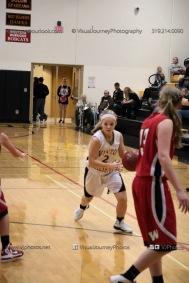 Sophomore Girls Basketball Vinton-Shellsburg vs Williamsburg-0277