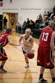 Sophomore Girls Basketball Vinton-Shellsburg vs Williamsburg-0279
