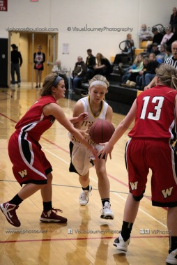 Sophomore Girls Basketball Vinton-Shellsburg vs Williamsburg-0280
