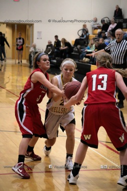 Sophomore Girls Basketball Vinton-Shellsburg vs Williamsburg-0281