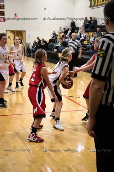 Sophomore Girls Basketball Vinton-Shellsburg vs Williamsburg-0284
