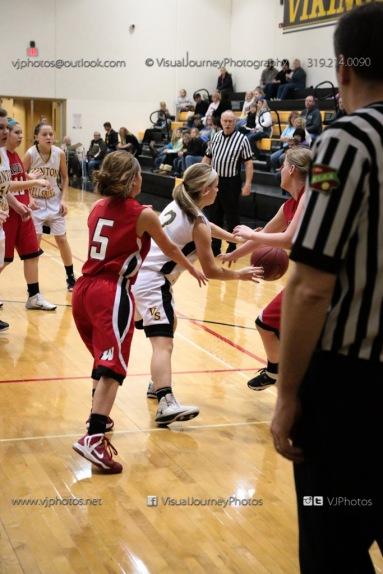 Sophomore Girls Basketball Vinton-Shellsburg vs Williamsburg-0285