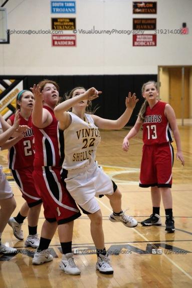 Sophomore Girls Basketball Vinton-Shellsburg vs Williamsburg-0287