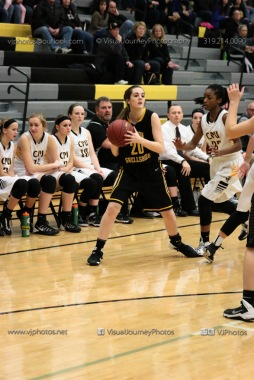 Varsity Girls Basketball Center Point-Urbana vs Vinton-Shellsburg-1923