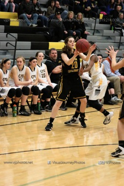 Varsity Girls Basketball Center Point-Urbana vs Vinton-Shellsburg-1924