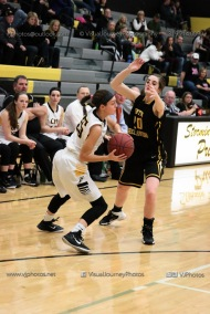 Varsity Girls Basketball Center Point-Urbana vs Vinton-Shellsburg-2011