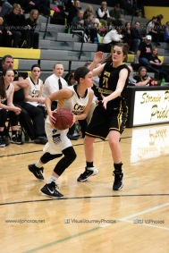 Varsity Girls Basketball Center Point-Urbana vs Vinton-Shellsburg-2012