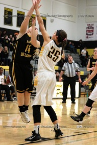 Varsity Girls Basketball Center Point-Urbana vs Vinton-Shellsburg-2024