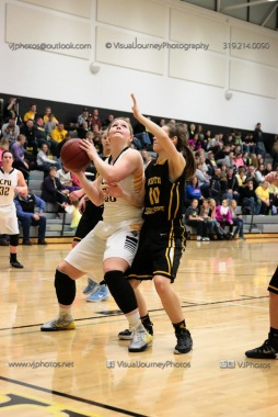 Varsity Girls Basketball Center Point-Urbana vs Vinton-Shellsburg-2091