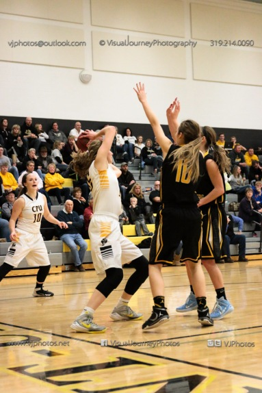 Varsity Girls Basketball Center Point-Urbana vs Vinton-Shellsburg-2141