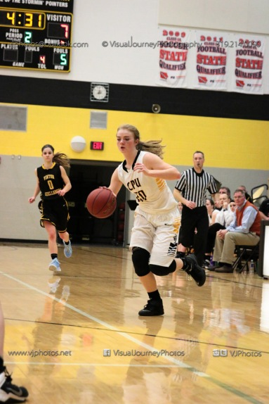 Varsity Girls Basketball Center Point-Urbana vs Vinton-Shellsburg-2168