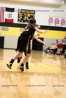 Varsity Girls Basketball Center Point-Urbana vs Vinton-Shellsburg-2173