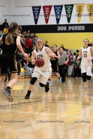 Varsity Girls Basketball Center Point-Urbana vs Vinton-Shellsburg-2185