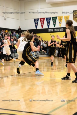 Varsity Girls Basketball Center Point-Urbana vs Vinton-Shellsburg-2199