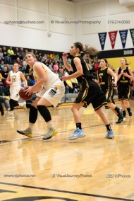 Varsity Girls Basketball Center Point-Urbana vs Vinton-Shellsburg-2202