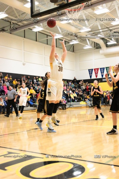 Varsity Girls Basketball Center Point-Urbana vs Vinton-Shellsburg-2206