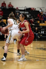 Varsity Girls Basketball Vinton-Shellsburg vs Williamsburg-0318