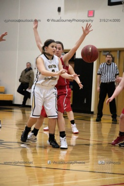 Varsity Girls Basketball Vinton-Shellsburg vs Williamsburg-0320