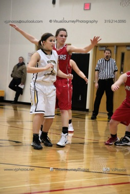 Varsity Girls Basketball Vinton-Shellsburg vs Williamsburg-0321