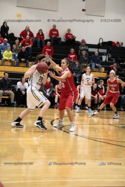 Varsity Girls Basketball Vinton-Shellsburg vs Williamsburg-0322