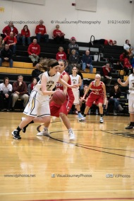 Varsity Girls Basketball Vinton-Shellsburg vs Williamsburg-0324