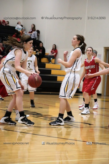 Varsity Girls Basketball Vinton-Shellsburg vs Williamsburg-0327