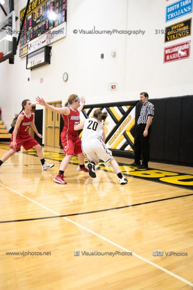 Varsity Girls Basketball Vinton-Shellsburg vs Williamsburg-0361