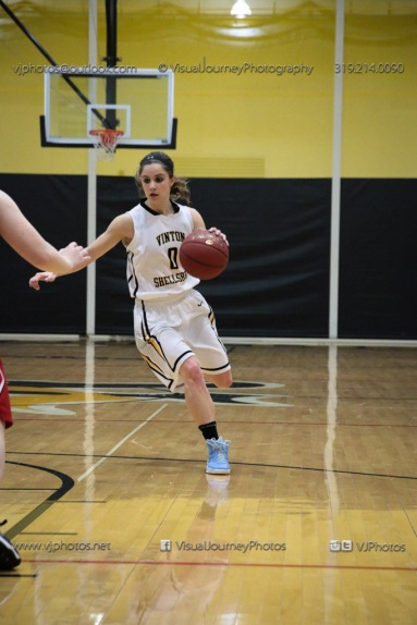 Varsity Girls Basketball Vinton-Shellsburg vs Williamsburg-0391