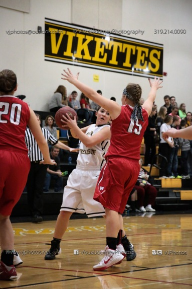 Varsity Girls Basketball Vinton-Shellsburg vs Williamsburg-0406