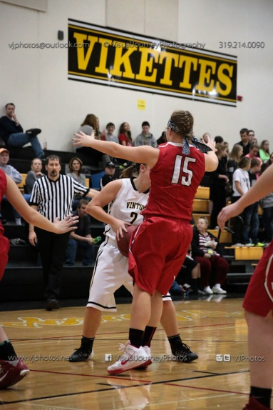 Varsity Girls Basketball Vinton-Shellsburg vs Williamsburg-0407