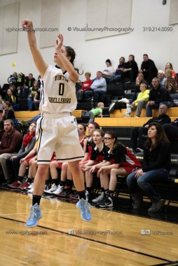 Varsity Girls Basketball Vinton-Shellsburg vs Williamsburg-0415