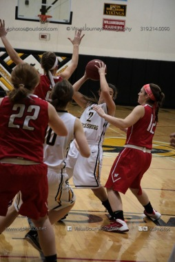 Varsity Girls Basketball Vinton-Shellsburg vs Williamsburg-0589
