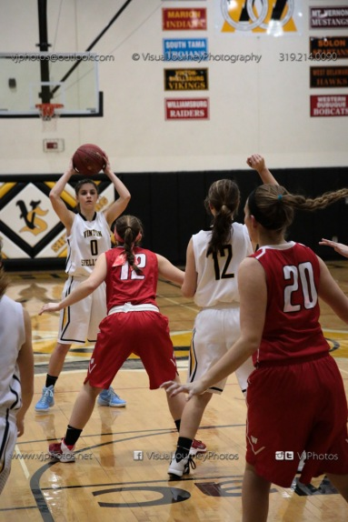 Varsity Girls Basketball Vinton-Shellsburg vs Williamsburg-0597