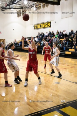 Varsity Girls Basketball Vinton-Shellsburg vs Williamsburg-0602