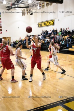 Varsity Girls Basketball Vinton-Shellsburg vs Williamsburg-0603