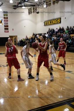 Varsity Girls Basketball Vinton-Shellsburg vs Williamsburg-0604