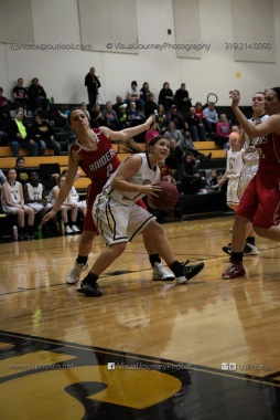 Varsity Girls Basketball Vinton-Shellsburg vs Williamsburg-0616