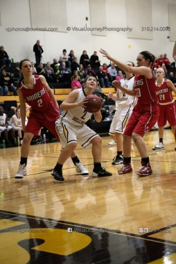Varsity Girls Basketball Vinton-Shellsburg vs Williamsburg-0617