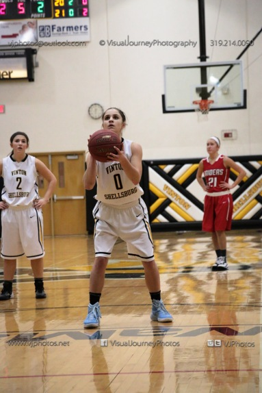 Varsity Girls Basketball Vinton-Shellsburg vs Williamsburg-0635