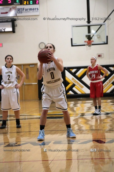 Varsity Girls Basketball Vinton-Shellsburg vs Williamsburg-0636